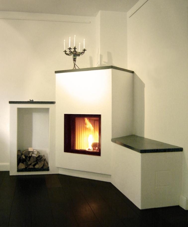 Ofen mit beheizter Sitzbank, Standort Langenfeld